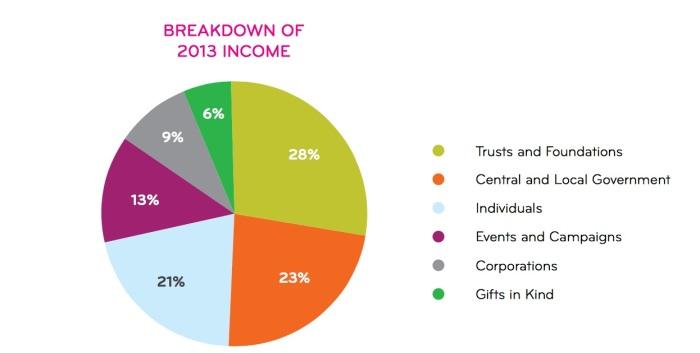 KidsCo 2013 income